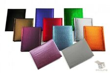 Any Size Color Matte Metallic Poly Bubble Mailers Mailing Padded Envelopes