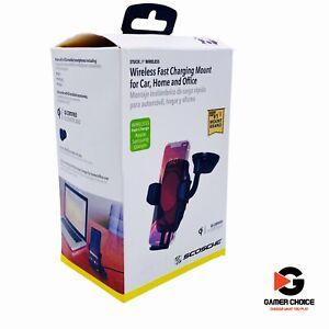 Scosche WDQ2M3SP1 MagicMount Pro Wireless Charging Universal Window/Dash Mount