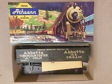 Ho Scale Athearn Abbotts Ice Cream 50' Express Reefer Kit Nos