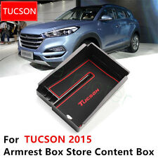One ABS Plastic Car Center Console Armrest Storage Box For Brand New TUCSON 2015
