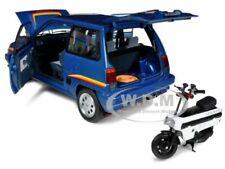 New ListingBox Damage Honda City Turbo Ii With Motocombo 1/18 Diecast Autoart 73283