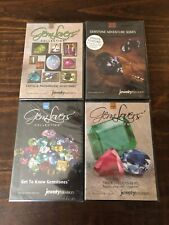 Jewelry Television Gem Lovers Collection New and Sealed DVD's Lot Of 4