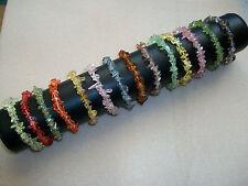 Glass Beaded Costume Bracelets without Stone