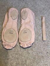 Bloch Split Sole Canvas Ballet Shoes 8.5c New