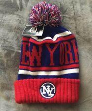 NEW YORK NY GIANTS TEAM COLORS BEANIE KNIT CAP HAT NEW YORK HEADWEAR NEW