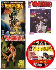 Vampirella 107 issues comics Vampire e-comics  on DVD