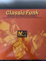 CLASSIC FUNK MASTERCUTS VOLUME 1 DOUBLE VINYL LP 1992 RARE SOUL DISCO FUNK