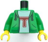 New Lego Minifigure Torso White Blue Hoodie Green Shirt 12 Piece Lot Bulk