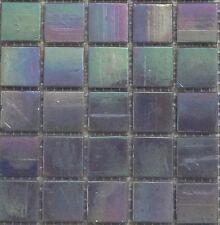 25pcs Bisazza Gloss Pearl GL 11 Purple Glass Mosaic Tiles 20mm x 20mm x 4mm
