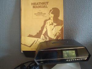 Heathkit Digital Time-Calendar Clock Model GC-1092D Swival Clock W/ Manual WORKS
