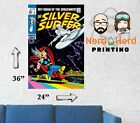 Silver Surfer #4 Cover Wall Poster Multiple Sizes 11x17-24x36
