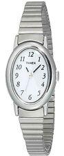 Timex T21902, Women's Cavatina Silvertone Expansion Band Watch, T219029J