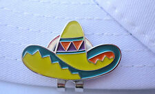 Sombrero Golf Ball Marker - W/Bonus Magnetic Hat Clip