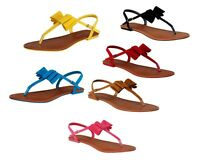 alvian-27 Flats T-Strap Sandals Gladiator Casual Party Colorful Women's Shoes