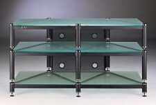 Beautiful VTI BLG503 Audio/Video Frosted Glass Rack,NEW