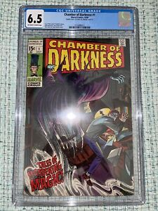 Chamber of Darkness #1 - CGC 6.5 FN+ Double Cover! 1969!