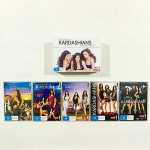 Keeping Up With The Kardashians Collector's Boxed Set DVD Series Seasons 1 - 5