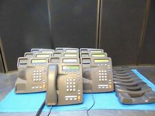 Lot Of 10 3Com 2101 Office Phones With Bases And Handsets Free Shipping RH124