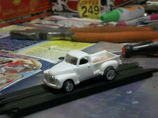 Highly Customized 1950 Gmc pick up truck 1/64 Scale Slot Car