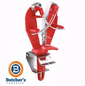 Butcher Chicken Chef Bobet Sharp Easy Sharpening Tool Red - Made In France
