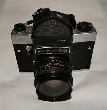 KIEV 60 Macchina Fotografica Camera Custodia Accessori Obiettivo Volna a rullino