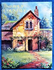 Simply Country Painting Pattern Book Dorothy Dent Landscapes - Unused