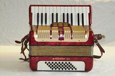 PIANO accordion akkordeon HOHNER STUDENT 40  BASS