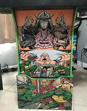 Arcade1up Cabinet Riser Graphics - TMNT Teenage Mutant Ninja Turtles Decal Set