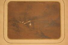 Nicolas Victor FONVILLE. Vue de Bugey, le pont aux chèvres, dessin XIX ème