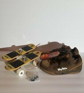 bbyhds Rollerboard Sneaker Combo Skateboard Shoes Brown Size 8 Baby heads New