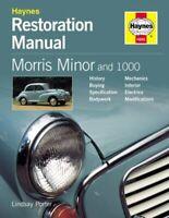 Morris Minor and 1000 Restoration Manual by Lindsay Porter 9781859606964