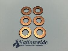 Mercedes CLS 350 CDi 3.0 V6 Common Rail Diesel Injector Washers x 6