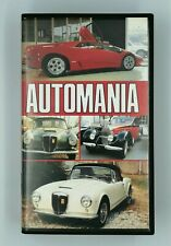 VHS Automania Video Filmato Corse automobilistiche Auto Corsa Rally