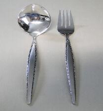 Oneida Community VENETIA  Gravy Ladle & Cold Meat Fork Stainless Flatware