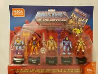 Mega Construx- BATTLE FOR ETERNIA - Masters of the Universe 5 Figure Set  - NIB