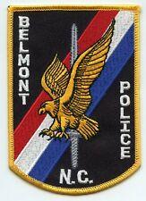 BELMONT NORTH CAROLINA NC POLICE PATCH