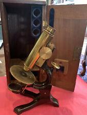 Rare And Innovative George Wale Radial Microscope 1879