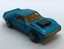 Matchbox AMX Javelin #9 Blue Dated 1972 (C100)