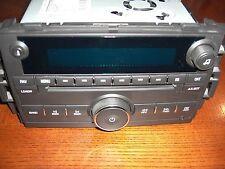 07-11 GM CHEVY SILVERADO SIERRA TAHOE DENALI 6 DISC CD COMBO AMFM RADIO 15868809