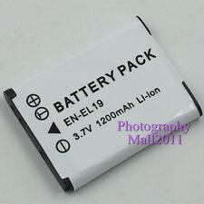 1200mAh Replacement For Nikon EN-EL19 Battery For Nikon S3100 S4100 S2500 Camera