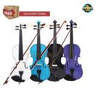 EKO Solid Wood Violin Size 4/4 3/4 1/2 1/4 1/8 1/10 1/16 1/EK
