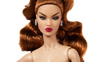 """Integrity Toys Nu.Face """"Fit To Print"""" Nadja Rhymes Nude Doll"""