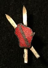 TELEMARK Lost Ski Area 1947-2013 Skiing Pin Wisconsin WI Resort Travel AA LYON