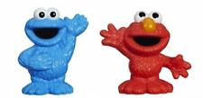 Sesame Street Elmo & Cookie Monster Figurine Stocking Stuffer, Party Favors NEW