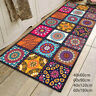 Non-slip Mandala Style Floral Pattern Rug Floor Mat Living Room Carpet Home New
