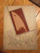 1942 Ashland High School Yearbook - The Hi-Life - Ashland, KY -