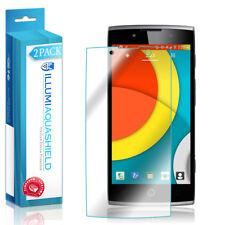 2x iLLumi AquaShield Clear Screen Protector Cover for Alcatel OneTouch Flash 2