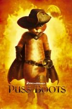 Puss In Boots Poster Advance Walking