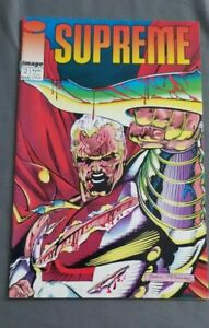 First Printing Image Comics Supreme Vol.2 #2 March 1993 Comic Book