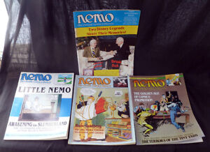 ~ NEMO Comics Library ~ LOT of 4 ~ Nos. 7, 20, 24 & 30 ~ vintage
